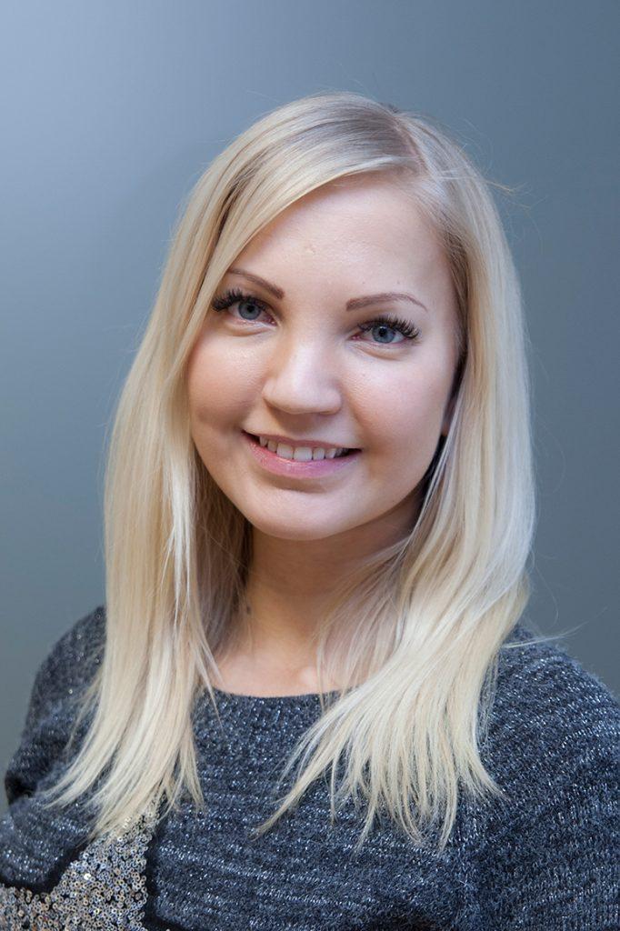 Työterveyspsykologi Linda Elo