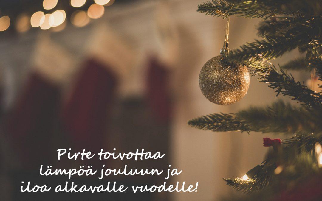 Toimitusjohtaja Tiina Surakan joulutervehdys